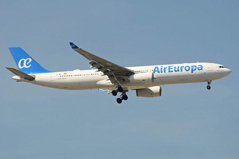 Vuelos especiales Air Europa