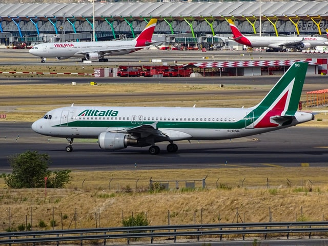 Alitalia cancela todos sus vuelos a partir del 15 de octubre de 2021